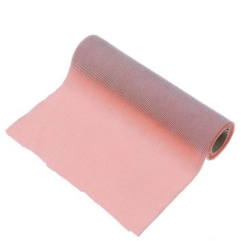 Le chemin de table doudou rose 28cmx3m