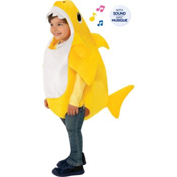 Le déguisement musical Baby Shark 1-2 ans