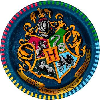 Les 8 assiettes Harry Potter Ø 18 cm