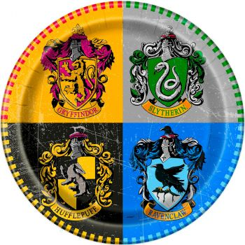 Les 8 assiettes Harry Potter Ø 23 cm