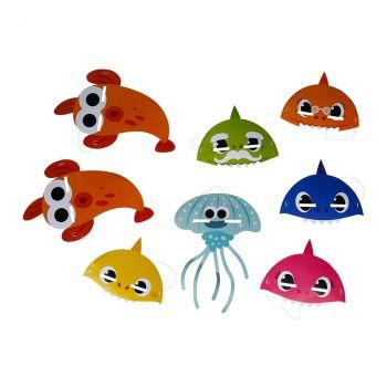 Les 8 masques Baby Shark