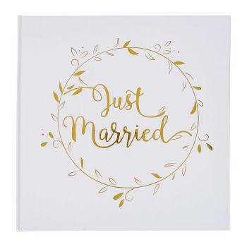 Livre d'or Just married 24cm