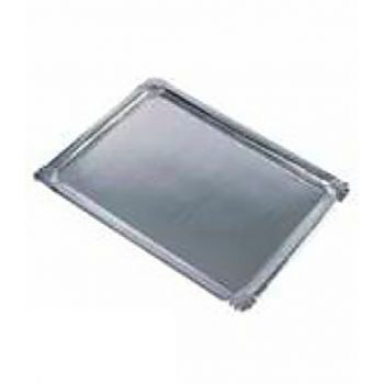 Lot de 10 plateau service aluminuim rectangle 34x45.5cm