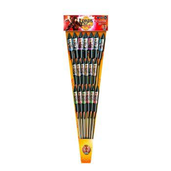 Lot de 19 fusées  F2