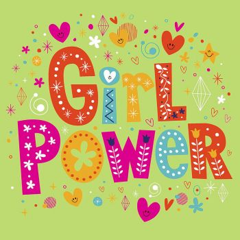 Lot de 20 serviettes girl power 33cm