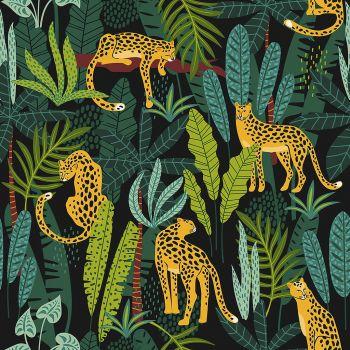 Lot de 20 serviettes leopards 33cm