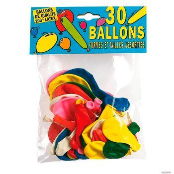 Lot de 30 ballons à modeler