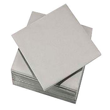 Lot de 50 serviettes voie sèche 40x40cm gris souris