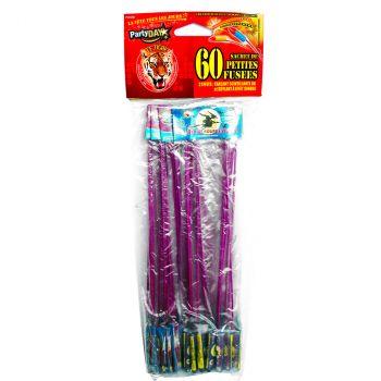 Lot de 60 mini fusées F2