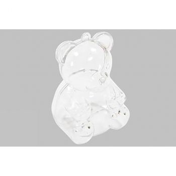 Lot de3 boîtes transparentes ourson