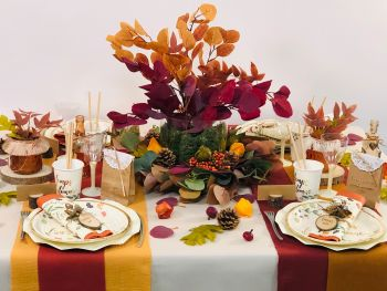 Table Mariage d'Automne