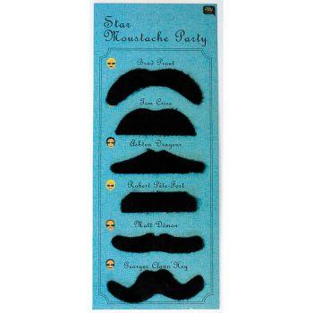 Moustache 6 pièces