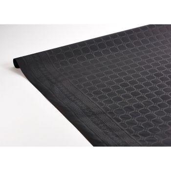 Nappe damasé 1.18x6m noir