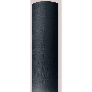 Nappe damassé 1.18x25m noir