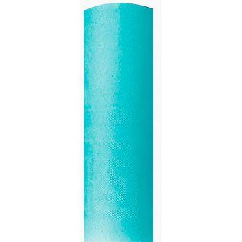 Nappe damassé 1.18x25m turquoise