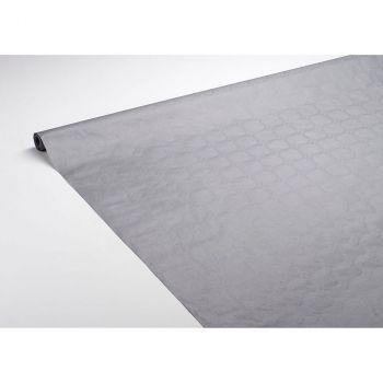 Nappe damassé 1.18x6m grise