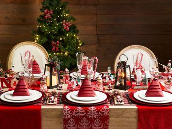 Table Noël Vintage
