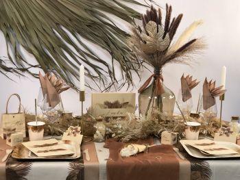Table Palm Leaf