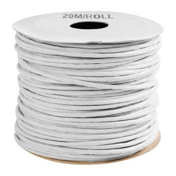 Paper cord 20m blanc