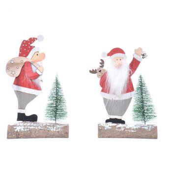 Père Noël déco sapin H18cm