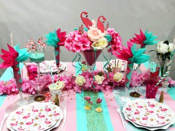 Table Pink Flamant