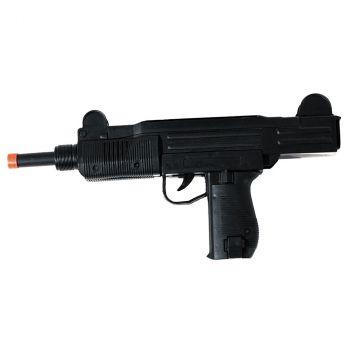 Pistolet mitrailleur plastique noir
