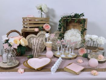 Table Plumetis
