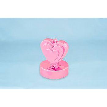 Poids cœur rose