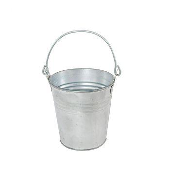 Pot avec anse zinc 9cm