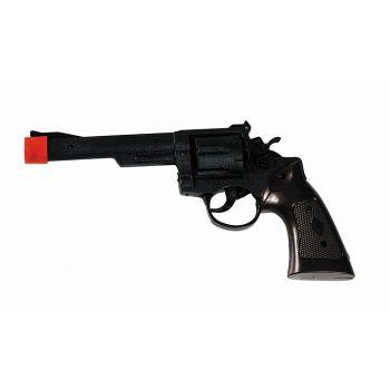 Revolver de Cowboy plastique noir