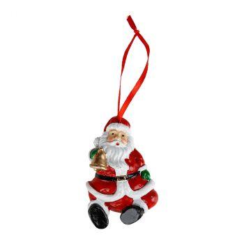 Rond de serviette Père Noël 8x5cm x4