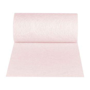 Ruban romance 10x10cm rose clair