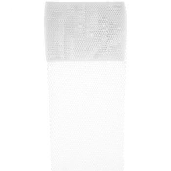 Ruban tulle 80mmx10m blanc
