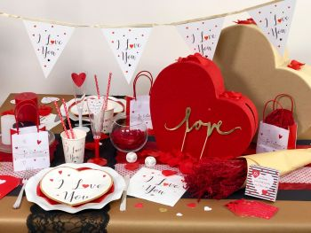 Table Saint Valentin