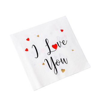 SERV I LOVE YOU 33CM X16 BLC