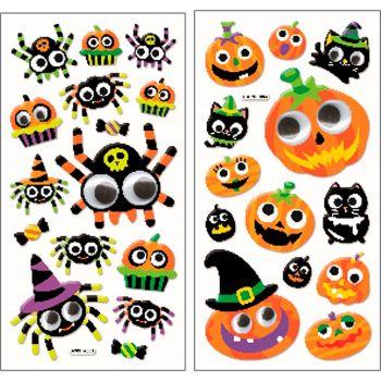 Stickers Halloween - 2 assortiments
