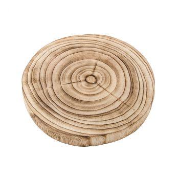 Support rondin bois