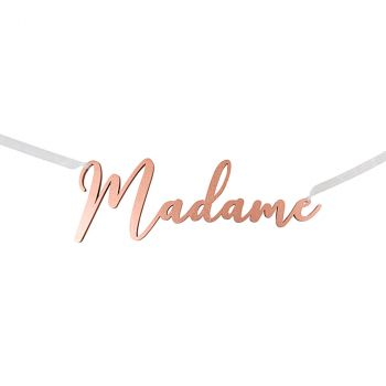 Suspension madame rose gold
