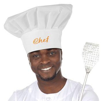 Toque chef cuisinier
