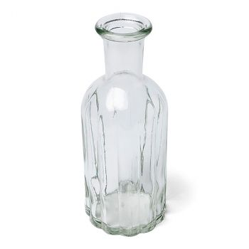 Vase en verre 19x7,5cm