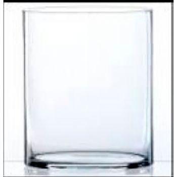 Vase en verre cylindrique 15cm - D15cm