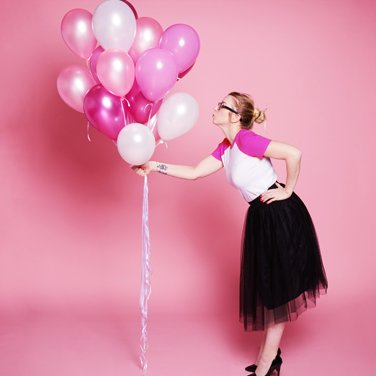 Compositions ballons latex