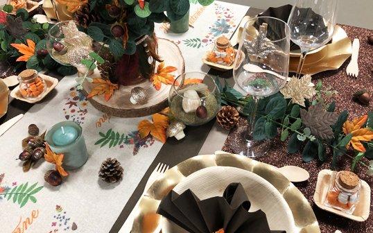 4 Tendances de décoration de table en Automne - Idées