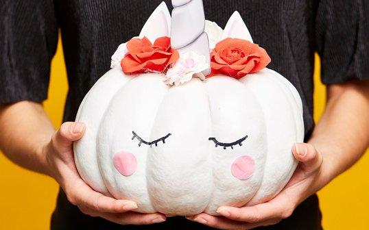 DIY : Citrouille Licorne pour Halloween !