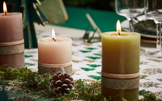 DIY : Une décoration de table hivernale à réaliser en 5 minutes chrono !