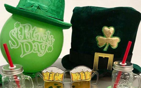 On se met au vert pour la Saint-Patrick !
