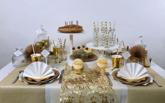 Une vraie table de roi pour l'épiphanie